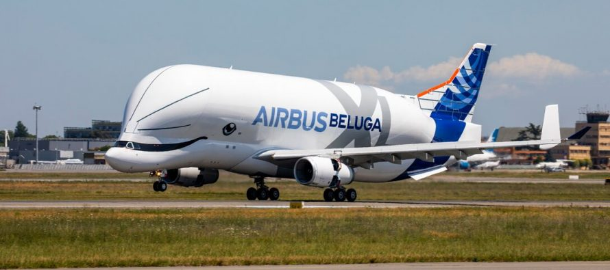 First BelugaXL successfully completes maiden flight