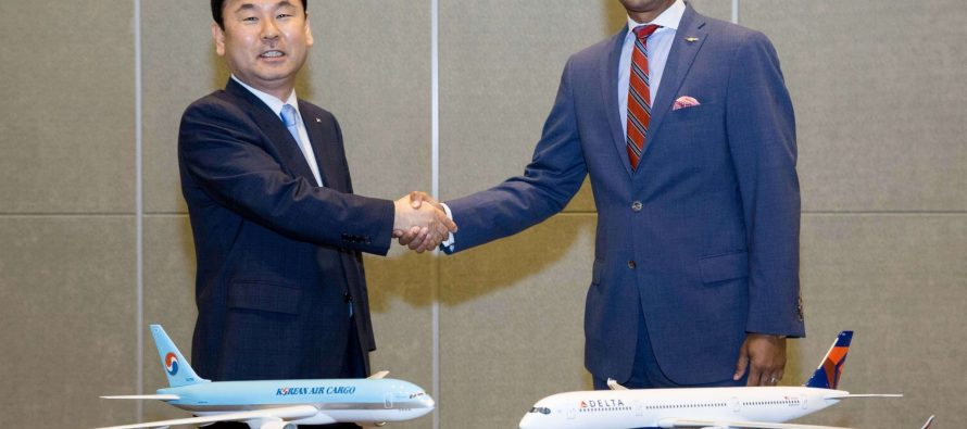 Delta, Korean Air launch joint venture cargo partnership