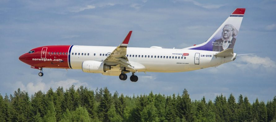 Norwegian traffic up 13% in January