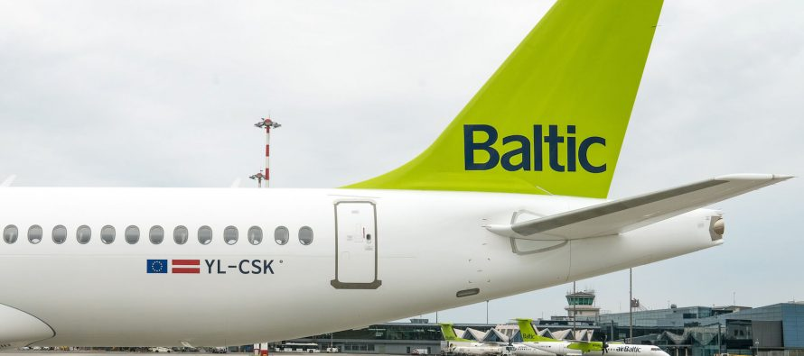 airBaltic receives its twelfth A220-300