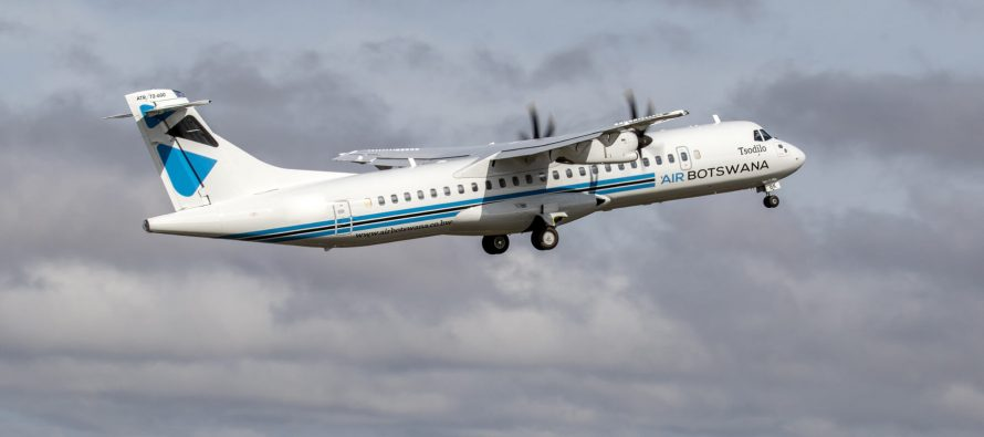 Air Botswana takes delivery of its first ATR 72-600