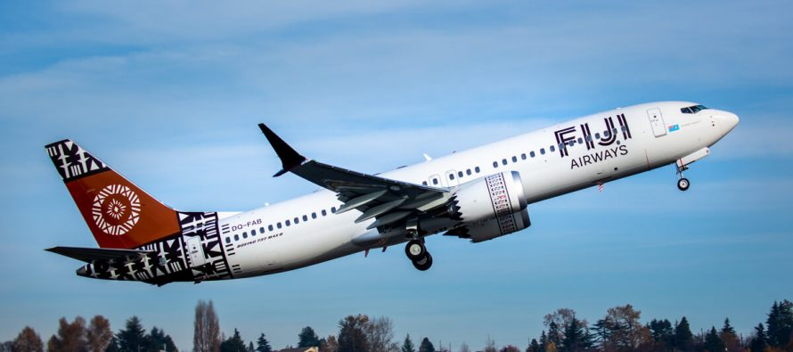 Fiji Airways takes delivery of its first 737 MAX 8