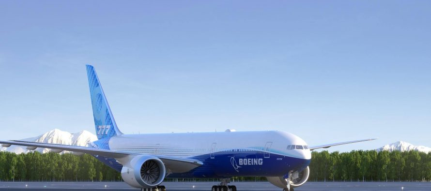 Boeing to reveal 777X test plane on March 13