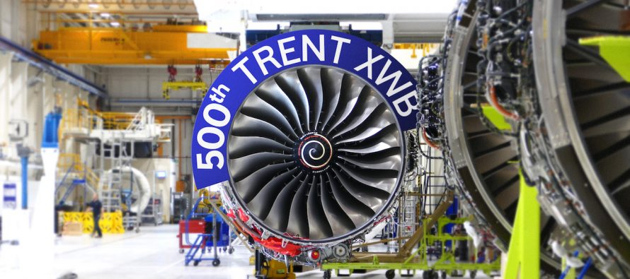 Rolls-Royce delivers 100th Trent XWB engine From Dahlewitz, Germany