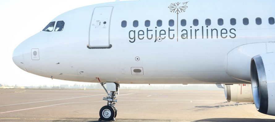 GetJet Airlines unveils new logo and embarks on full rebranding
