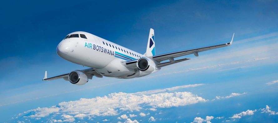 Air Botswana signs pool program agreement for its E170