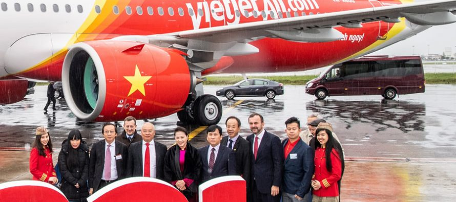 Vietjet takes delivery of one A321neo