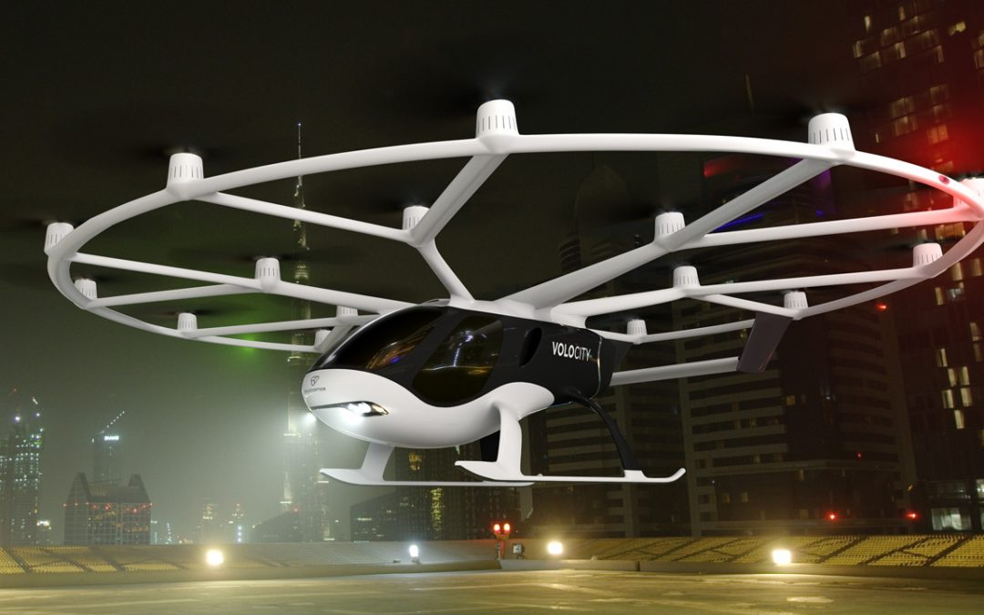 Volocopter reveals on-demand air taxi, VoloCity