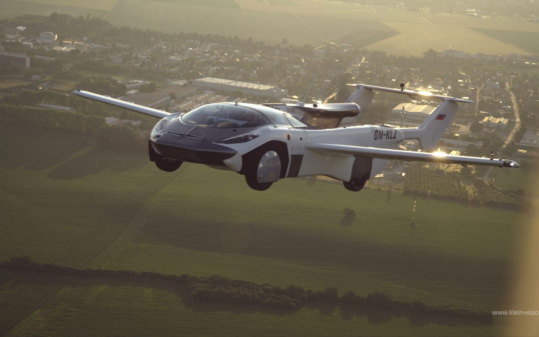 Flying car completes first ever inter-city flight