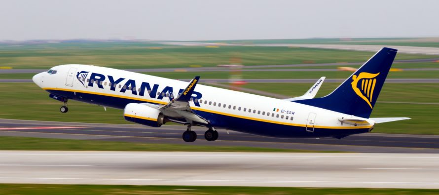 Ryanair May traffic rises 6%