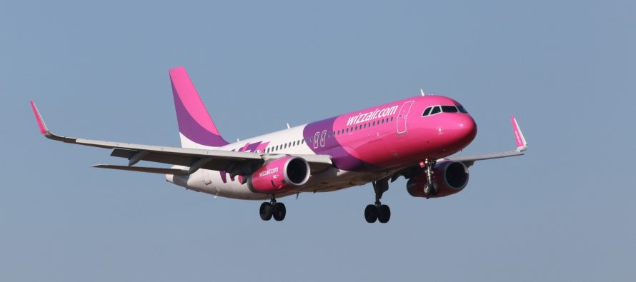 Wizz Air traffic grows 19% in March 2017