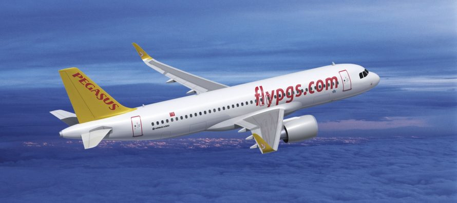 Pegasus Airlines receives one new A320neo