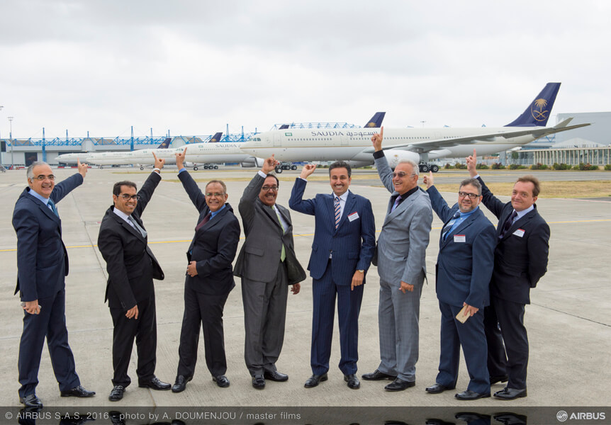 A330-300 Regional Saudi Arabian Airlines