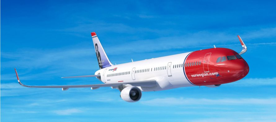 Norwegian Air September traffic