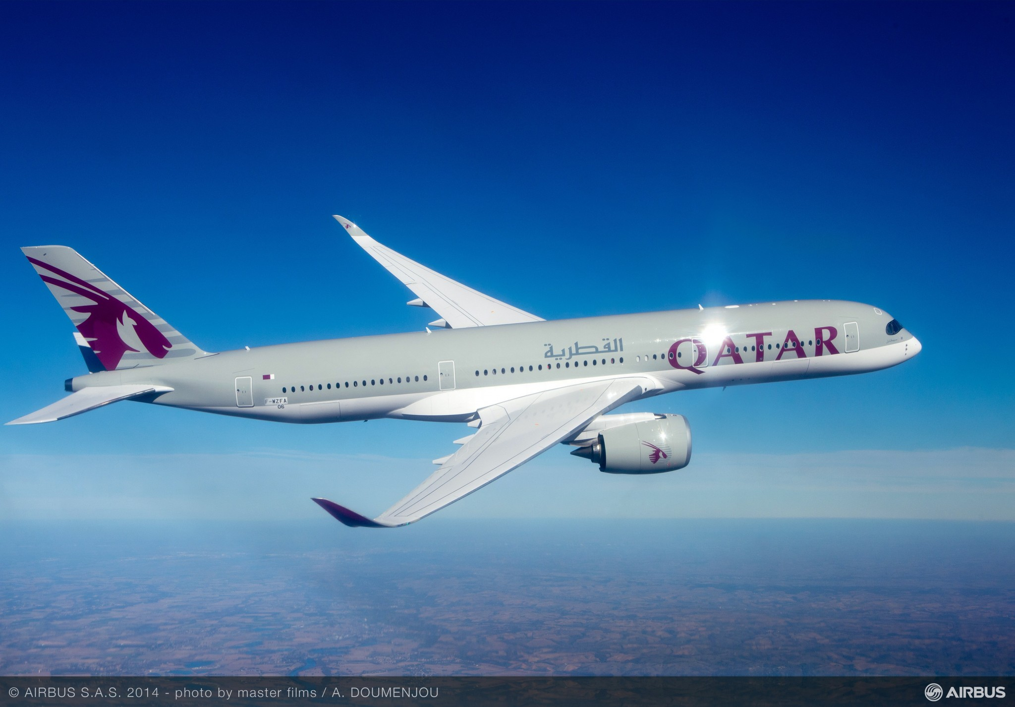Qatar Airways A350 XWB