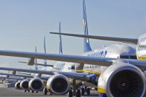 Ryanair profits fall
