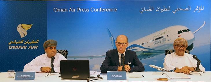 Oman Air reports on progress & future plans