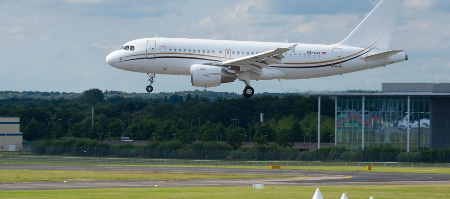 TAP M&E performs first sharklet refit on an ACJ319VIP