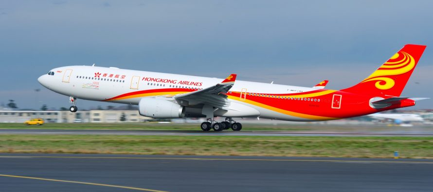 Hong Kong Airlines chooses Airbus' FHS-TSP solution to cover its fleet of 21 A350s