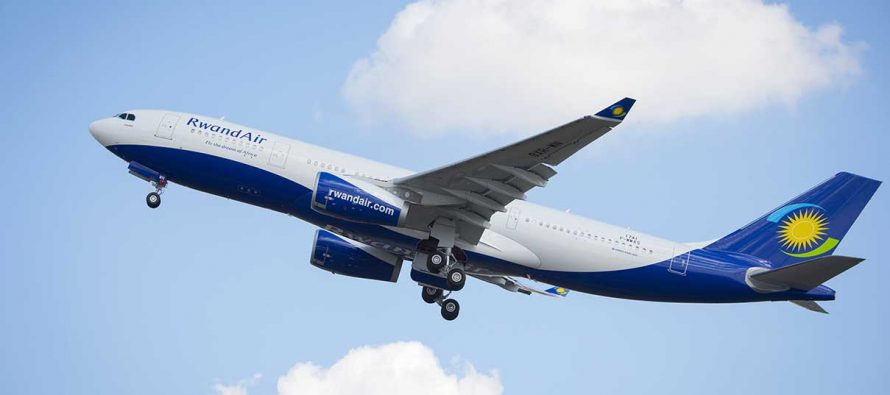 RwandAir takes delivery of its first A330 aircraft