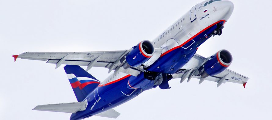Aeroflot passenger traffic up 10.2% in YTD 2016