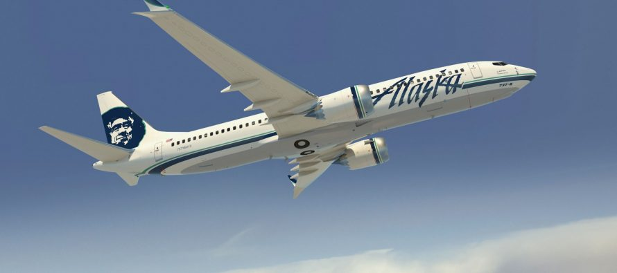 Alaska Air Group reports July 2017 operational results