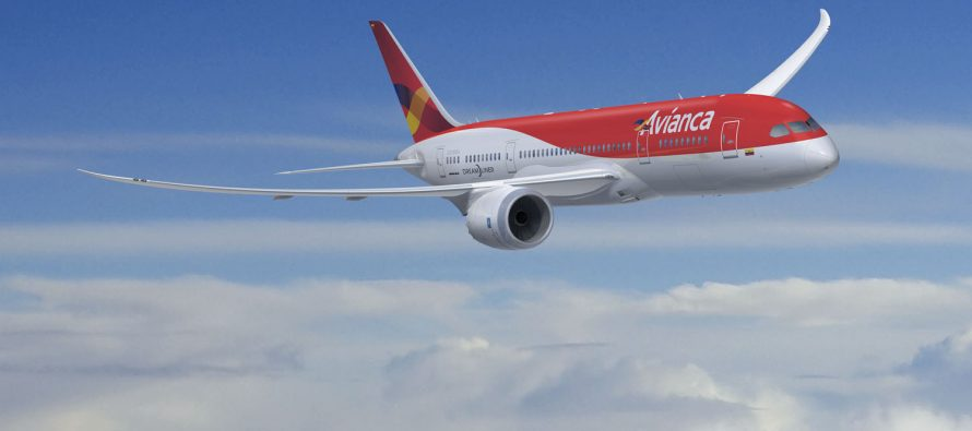 SMBC Aviation Capital delivers one 787-8 to Avianca