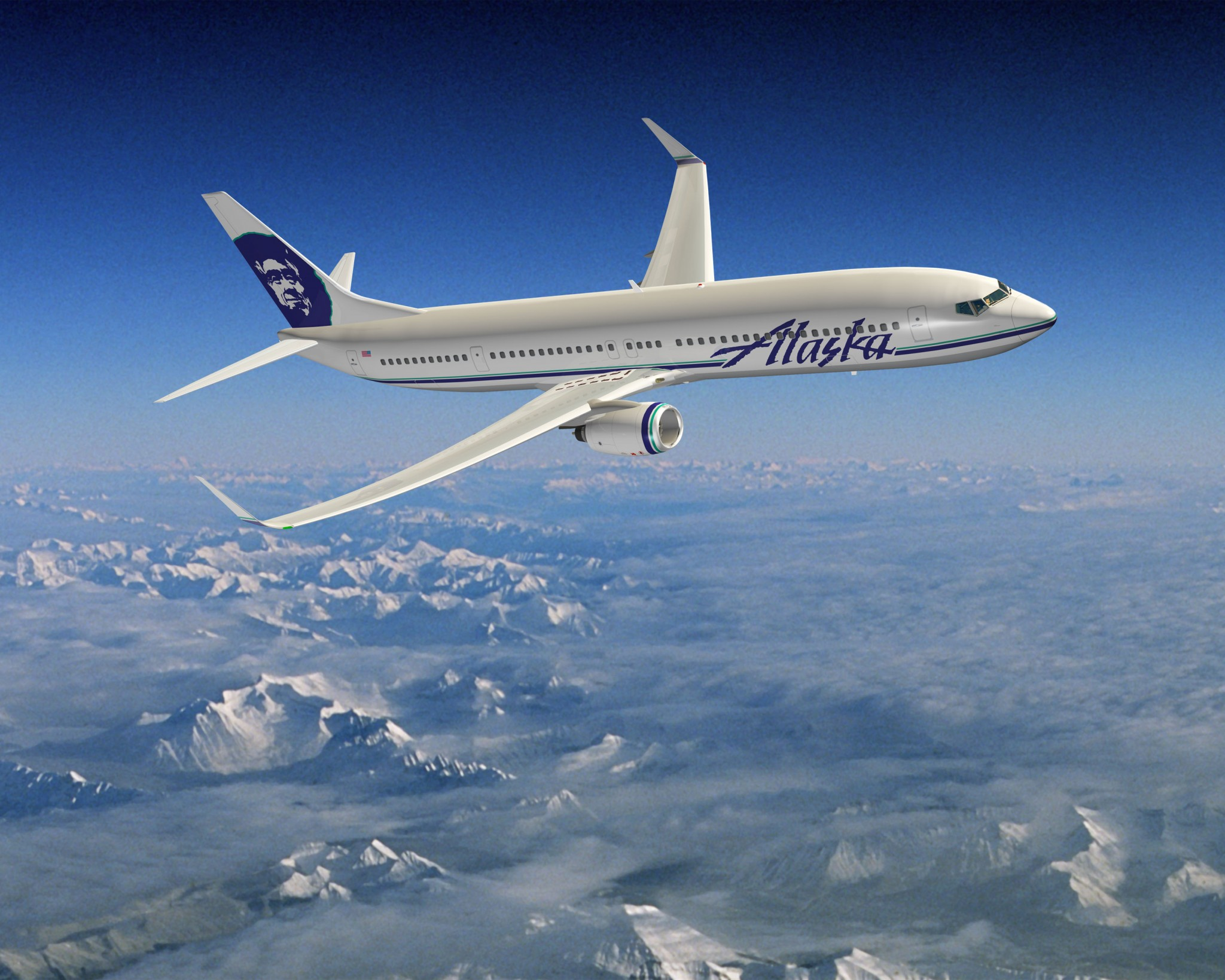 ALC delivers the first of 13 new Boeing 737s to Alaska Airlines