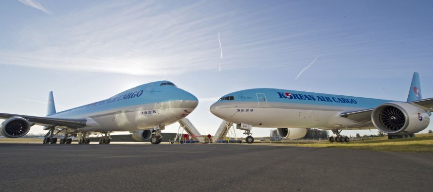 GECAS' Cargo Aircraft Group signs purchase-and-leaseback deal with Korean Air for five new 777Fs