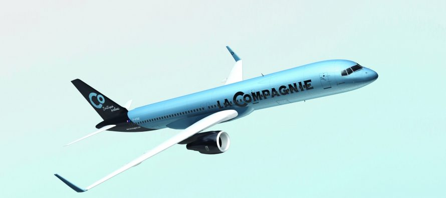 French business airline La Compagnie takes delivery of first A321neo