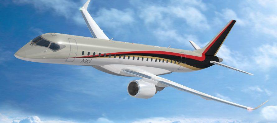 Japan Civil Aviation Bureau Pilots the MRJ