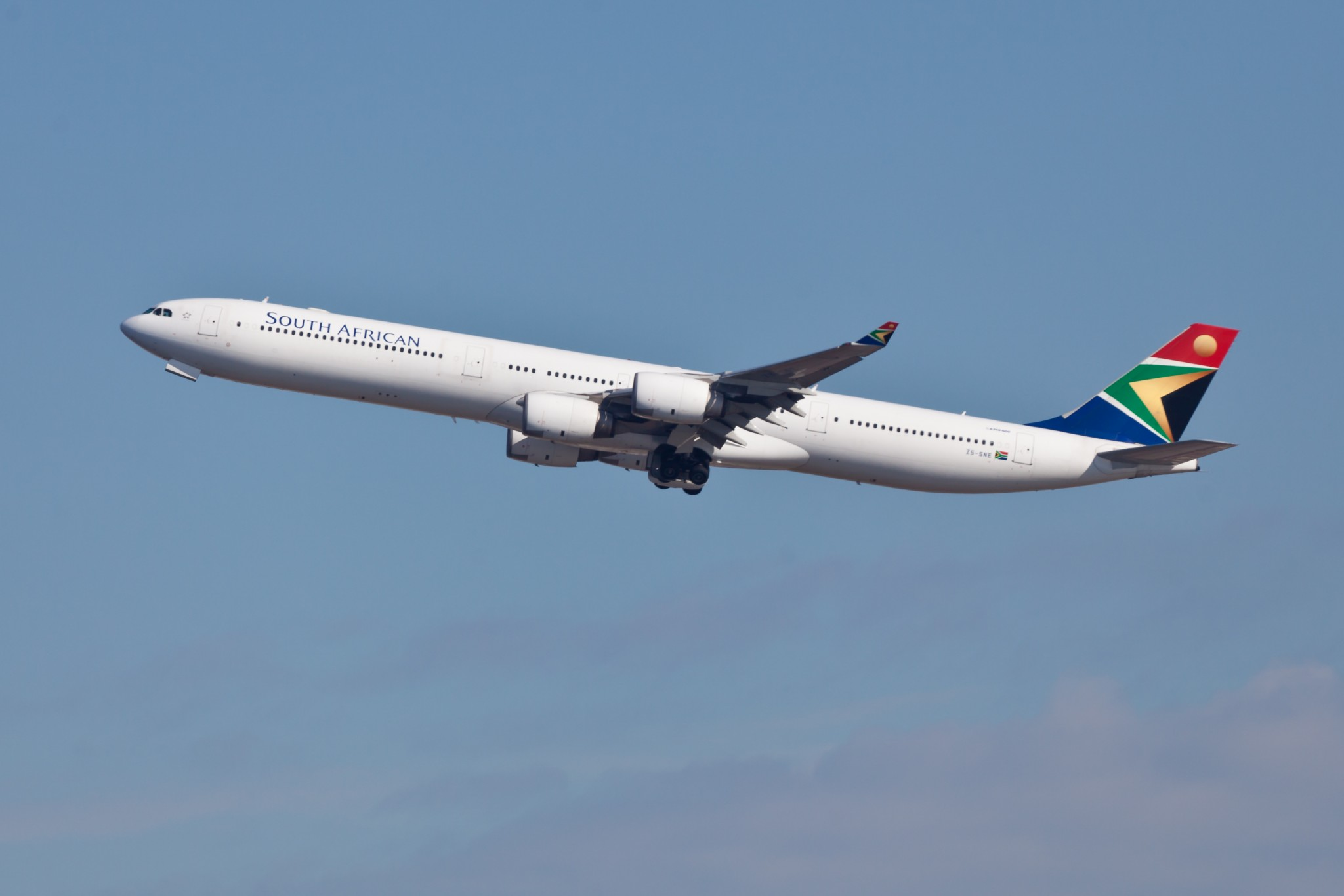 South African SAA A340