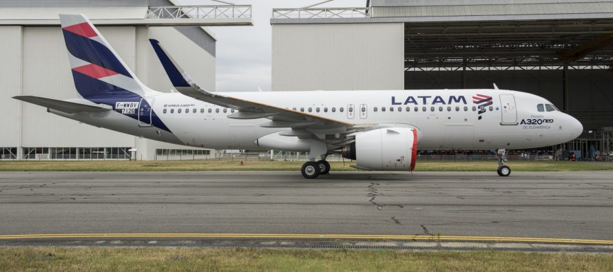 LATAM Airlines Group reports preliminary monthly statistics for October 2017