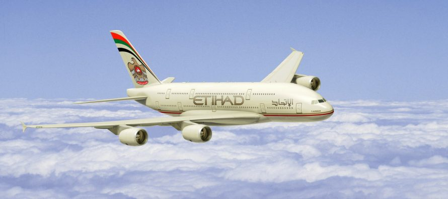Etihad Airways doubles A380 service to JFK