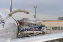 Airbus A350: Lufthansa Technik and Lufthansa Cargo test loading of Trent XWB