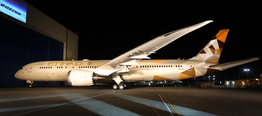 Etihad Airways' 787 commences daily services into Amman