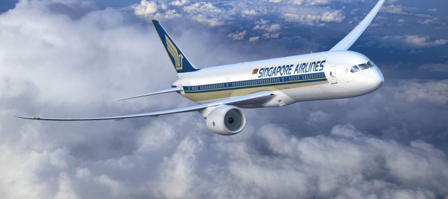 Singapore Airlines reports high profit