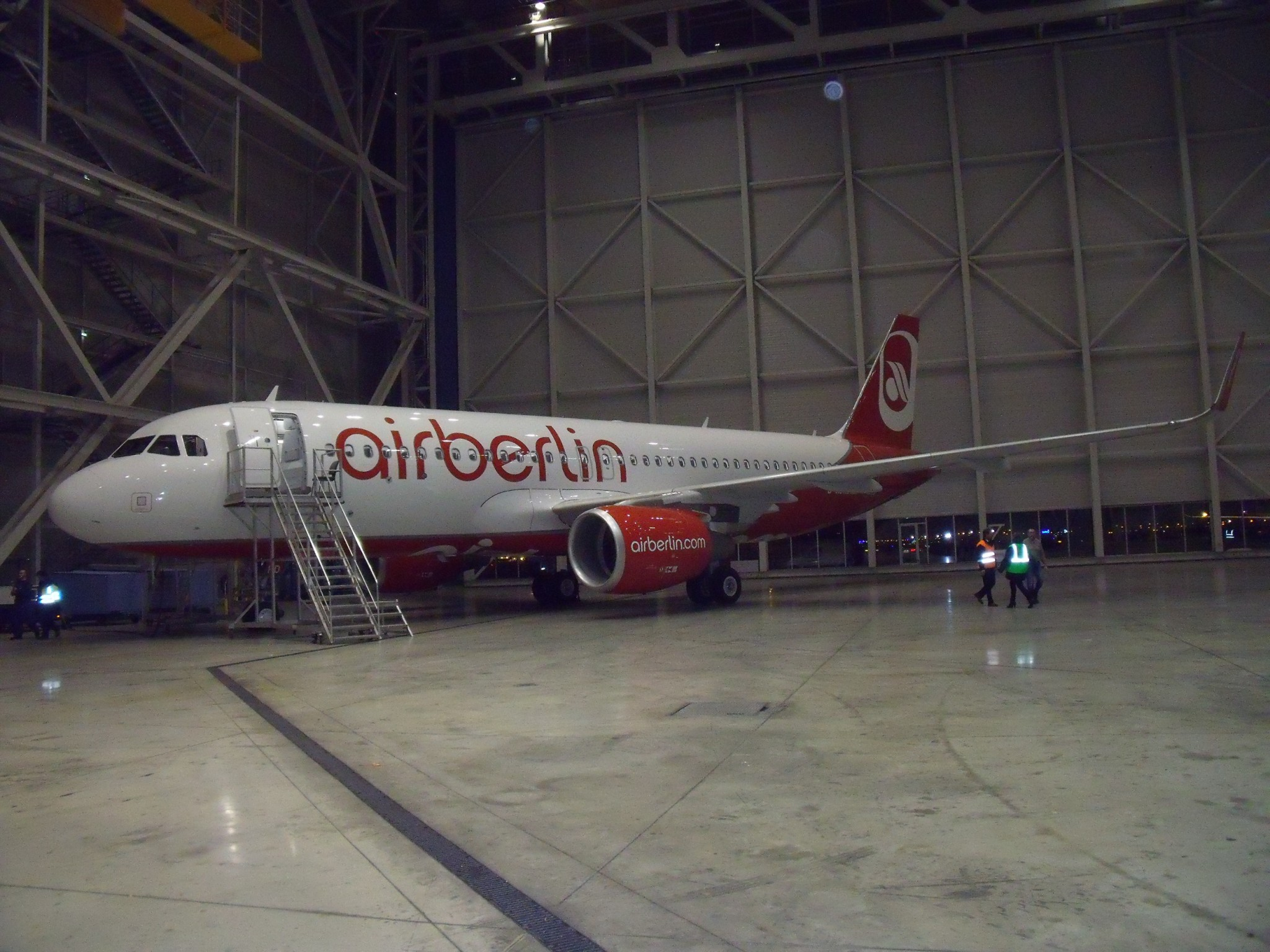 Air Berlin A320-200 delivery from Avolon 1st December 2016