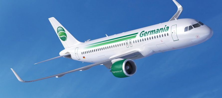 AWAS delivers Airbus A319 to Germania