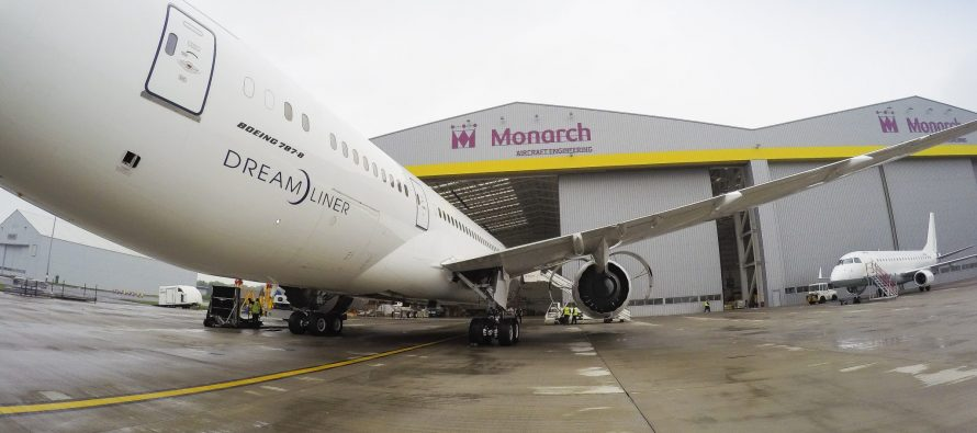 Monarch Aircraft Engineering extends GCAA approval
