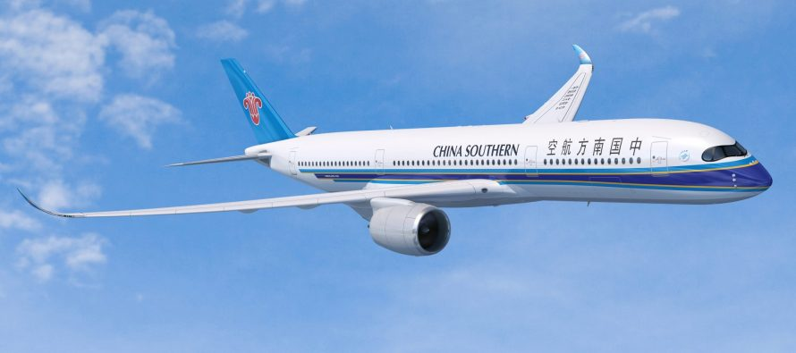 China Southern Airlines orders 20 Airbus A350 XWBs