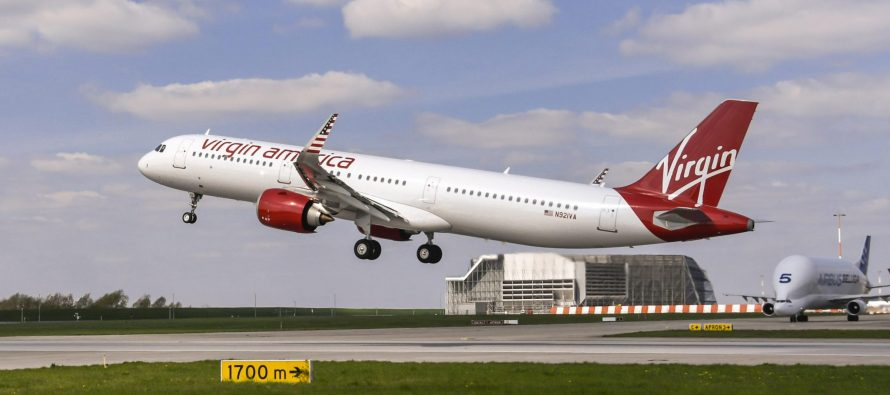 Virgin America takes delivery of its first ever A321neo