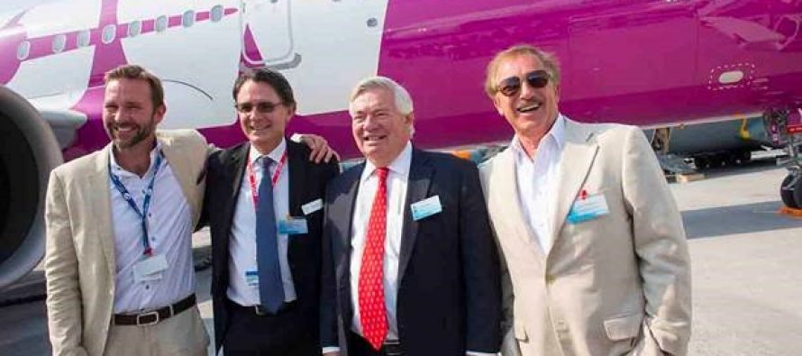 ALC delivers first new A321-200neo to WOW air