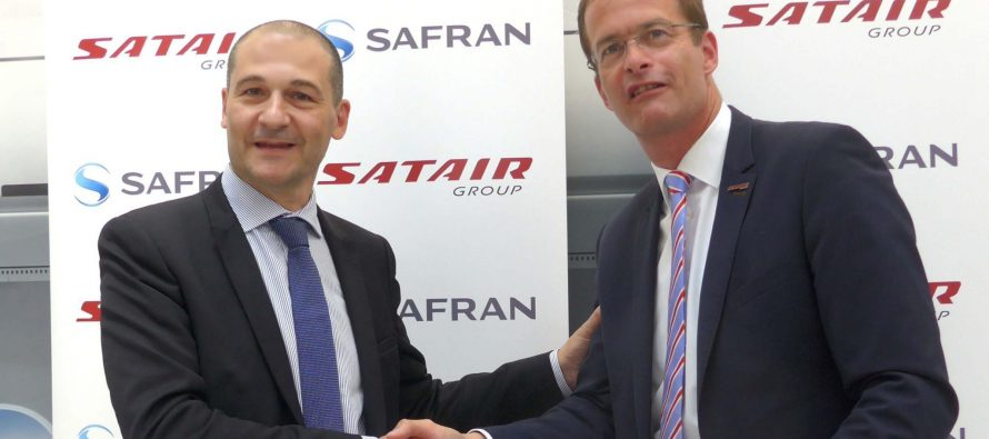 Satair Group and Safran Nacelles sign lifetime contract for supply chain services
