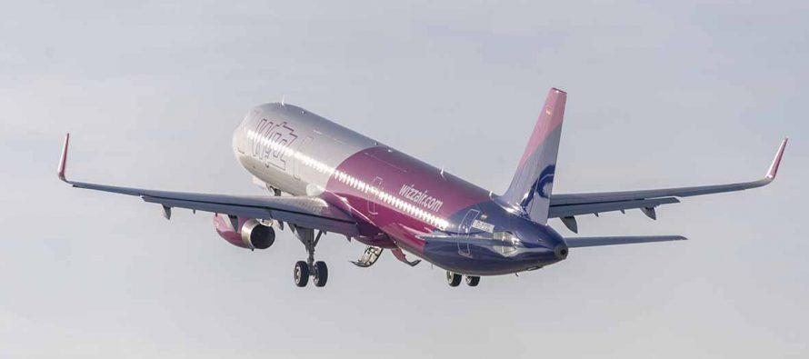 Wizz Air grows passenger numbers by 24%