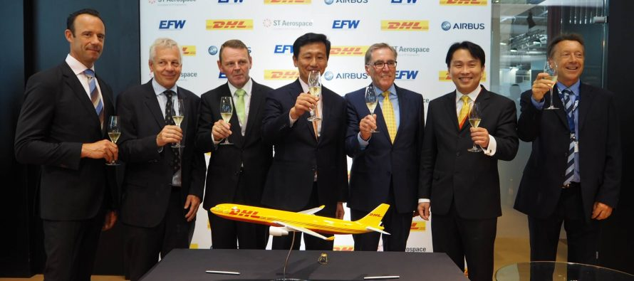 EFW secures second A330-300P2F conversion contract from DHL Express