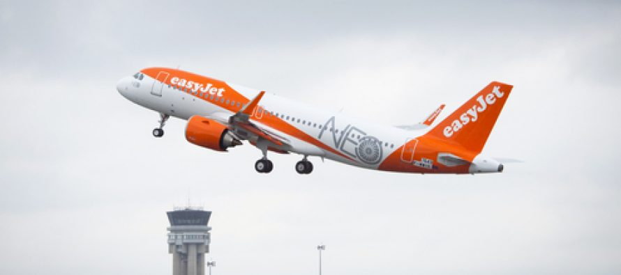 First A320neo delivery with Recaro seats for easyJet