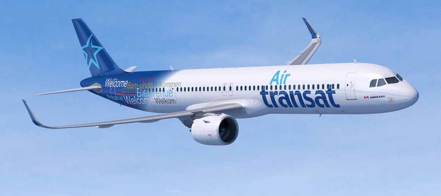 Air Transat to lease seven new A321neos