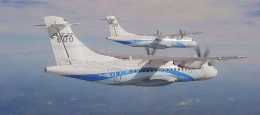 Nordic Aviation Capital orders 15 ATR-600s