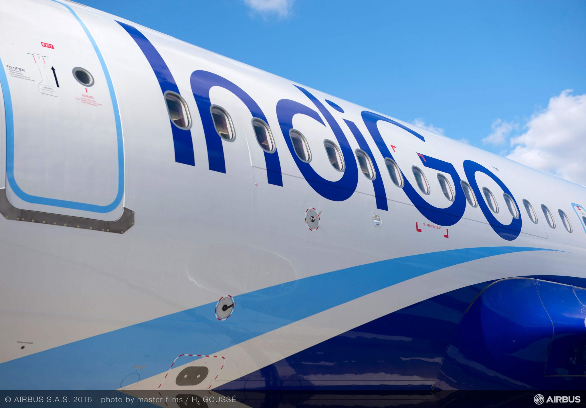 Two IndiGo aircraft in near miss